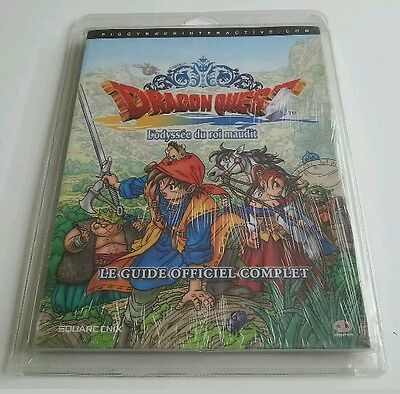 Guide Dragon quest l'odyssee du roi maudit NEUF EMBALLÉ