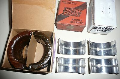 39 48 Ford Mercury Main Bearing set .020 NOS flathead 40 41 42 46 47 1939-1948