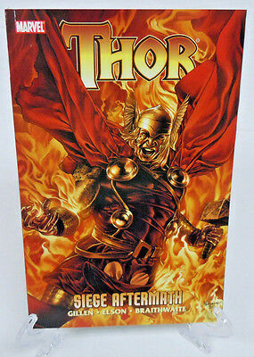 Thor Siege Aftermath 611 612 613 614 Marvel Comics TPB Trade Paperback NEW