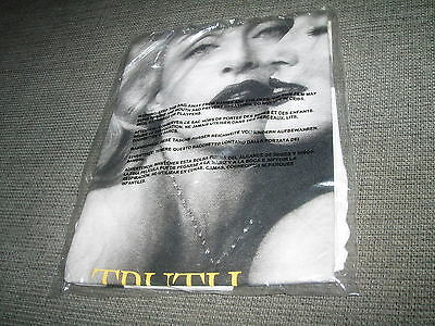 Madonna - Truth Or Dare Fragrance Promo T-Shirt New & Sealed