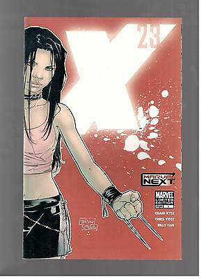 X-23 #1 2nd Print Red Cover Variant Limited Edition Marvel Comics NYX 2006 NM