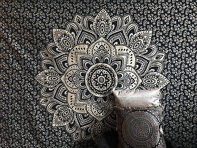 Indian Tapestry Wall Hanging Mandala Throw Hippie Ombre Cover Bohemian Dorm Deco