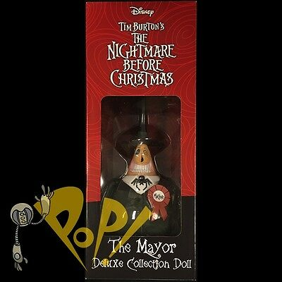 """NBX Nightmare Before Christmas MAYOR Limited Edition 6"""" Collector Doll DIAMOND!"""