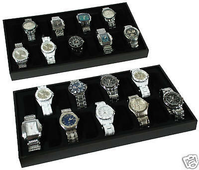 2-18 Watch Travel Case Jewelry Display Wristwatch New