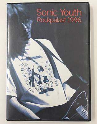 Vtg Sonic Youth Rockpalast 1996 concert show dvd