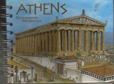 Athens: The Monuments Then and Now by DROSOU - PANAGIOTOU Book The Cheap Fast