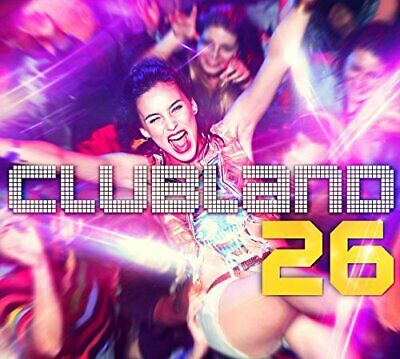 Various Artists - Clubland 26 - Various Artists CD WQVG The Cheap Fast Free Post