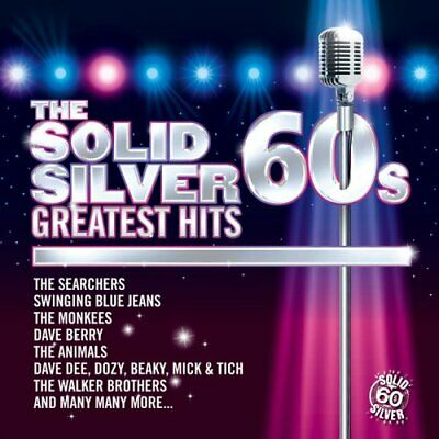 Various Artists - SOLID SILVER SIXTIES GREATEST HITS - Various Artists CD 7UVG
