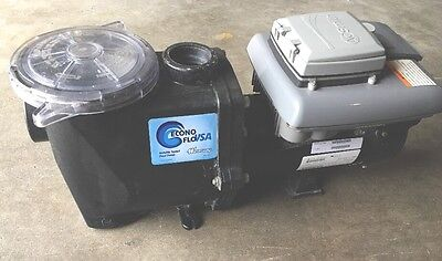 Waterway Econo-Flo VSA 2.7HP Variable Speed In Ground Pool Pump 230V