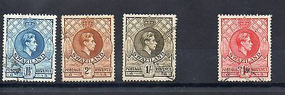 SWAZILAND 1938/54 SG 30b - 31a - 35a - 29 used