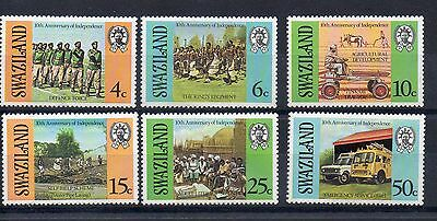 SWAZILAND 1978  SG 300 to 305 m/m