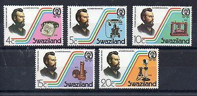 SWAZILAND  1976 SG 263 to 267 m/m