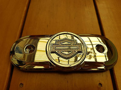 Harley Davidson Diamond Ice Collection Air Cleaner Trim Chrome and Diamond