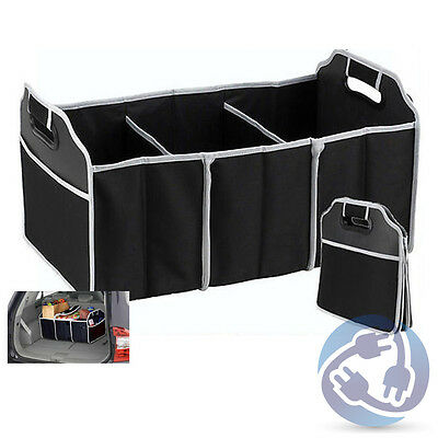 Collapsible Trunk Organizer Caddy Bag for Car Truck Van Folding Storage