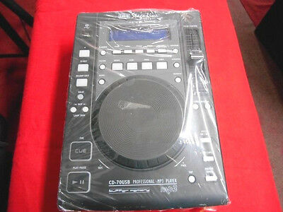 Lettore Cd Per Dj Stageline Cd 70Usb