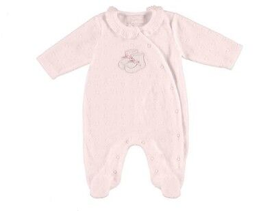 Mayoral Baby Jacquard Microfleece Pyjama sizes 0-1mths to 12mths - 2746