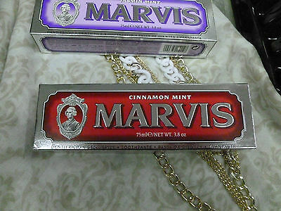 Marvis pasta dentifricia made in Italy toothpaste 75 ml vari gusti