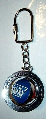 Official WWE  Smack Down - RAW - spinning ball Key Ring - vintage