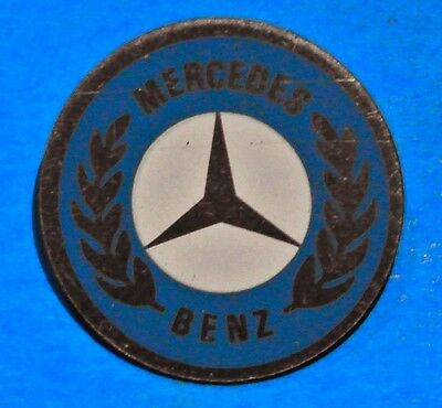 Mercedes Benz - Logo - Emblem - Car - Automobile - Vintage Lapel Pin  - Hat Pin