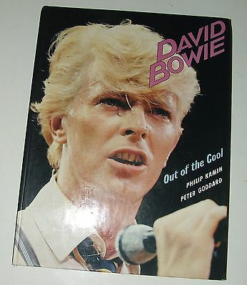 David Bowie Out of the cool Hardcover (Serious Moonlight tour) 1st edition 1983