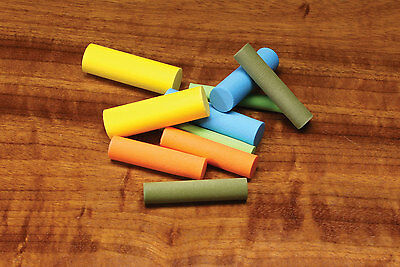 "1/"" 3//4/"" or 5//8/""   Fly Tying FOAM CYLINDERS POPPER BODIES by RIVER ROAD"