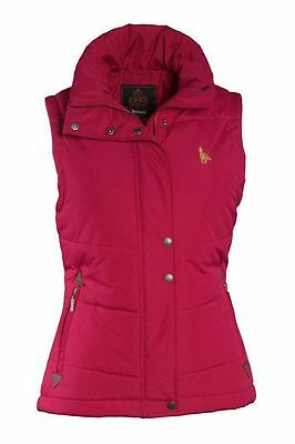 Toggi Billingham Ladies Gilet Body Warmer Deep Pink New with Tags Size 10 .12