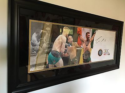 CONOR McGREGOR ufc SIGNED 196 FIGHT USED CANVAS only 50 made RARE AUTOGRAPH MMA