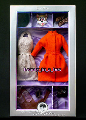 Cat Mask Outfit Audrey Hepburn Breakfast Fashion for Barbie Doll