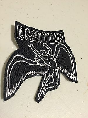 LED ZEPPELIN WINGS EMBROIDERED Patch Iron or Sew on FREE SHIPPING