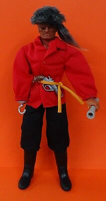 Big Jim Figur - Captain Hook 2262 - Pirate Serie - + bucaneer outfit