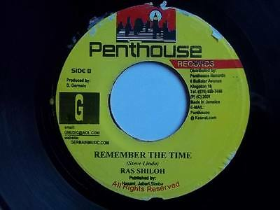 """RAS SILOH Remember The Time 7"""" vinyl Sound Clip in Listing"""