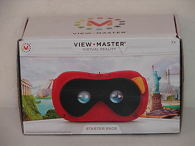 Mattel VIEW MASTER Open your Eyes to VIRTUAL REALITY Starter pack Ages 7+