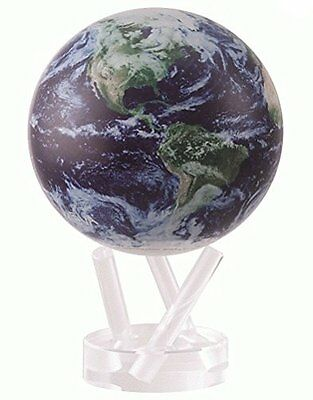 """4.5"""" Satellite View Cloud Cover MOVA Globe Geography History Toy Hobby Education"""