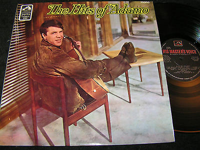 ADAMO The Hits Of Adamo / 60s Yugoslavia Mono LP JUGOTON EMI LPHMV-V-292