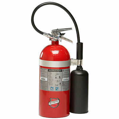 10LB.- Co2 - Fire Extinguisher-Rechargeable-Tagged - New