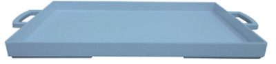 Zak Designs Mee Mee Range Melamine Rectangle Serving Tray Blue