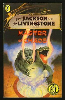 Master of Chaos (Puffin Adventure Gamebooks), Livingstone, Ian Paperback Book