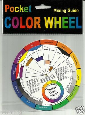 Colour Wheel - Pocket Size - 13.5cm wide