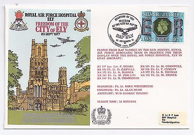Royal Air Force RAF Hospital Ely - Freedom of the City cover 1977