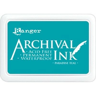 Archival Ink Pad #0 - Paradise Teal