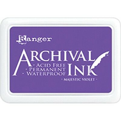 Archival Ink Pad #0 - Majestic Violet