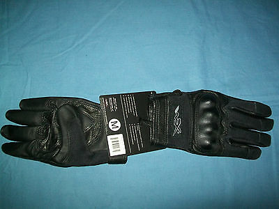 NEW Wiley X Cag-1 Combat Assault Glove Black Medium Flame Resistant U230