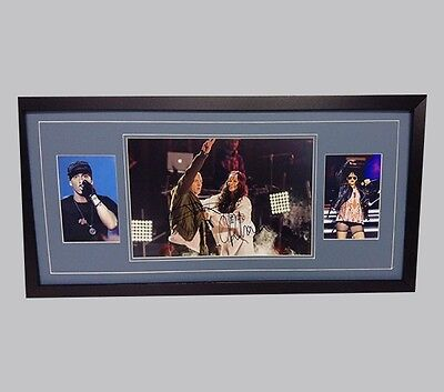 Eminem & Rhinna Genuine Hand Signed/Autographed Photograph with COA