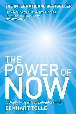 BESTSELLER The Power of Now: Guide to Spiritual Enlightenment Eckhart Tolle