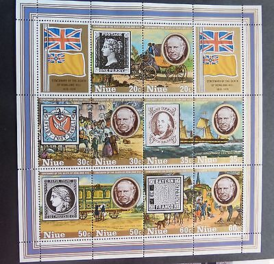 Niue 1979 Death Cent Rowland Hill MS294 MNH UM unmounted mint