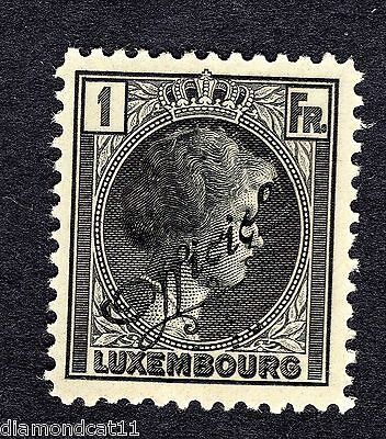 1926 Luxembourg 1Fr Black OPTD OFFICIEL SG 0293 MOUNTED MINT R24839