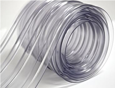 "Plastic Strip Curtain PVC Door Freezers Room Storage Clear 150' Roll - 8"" Wide"