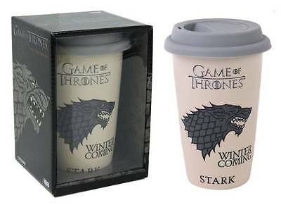 Tazza da viaggio in ceramica Game of Thrones House Stark Travel Mug 15 cm