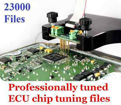 Professionally Tuned Ecu Chip Tuning 23000 Files for Galletto, MPPS, KWP200 ETC