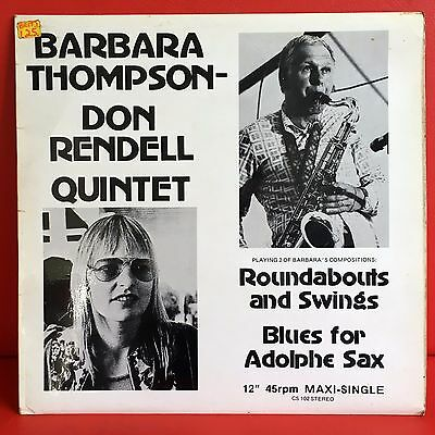 "Barbara Thompson Don Rendell Quintet - Roundabouts & Swings 12"" UK Jazz Chiltern"